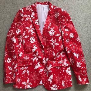 Suslo Couture slim fit Christmas blazer